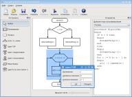 Новый пакет в репозитории Mandriva Linux - редактор блок-схем алгоритмов.